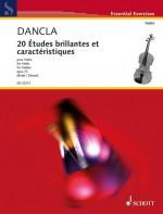 20 Études brillantes et caractéristiques