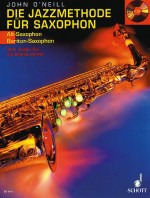 The Jazz method for Saxophone - MP3-Pack