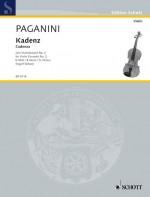 Cadenza to the Violin Concerto No. 2 B Minor