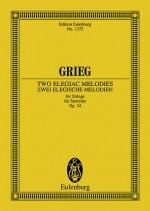 2 elegiac Melodies