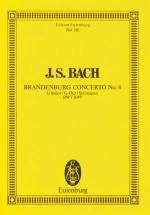 Brandenburg Concerto No. 4 G major