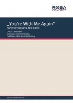 """""You're With Me Again"" song for soprano and piano on the lyrics by I. Annenskii"""