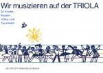 Wir musizieren auf der Triola