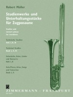 Studies and concert pieces for trombone