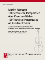 100 Technical Paraphrases on Kreutzer-Etudes