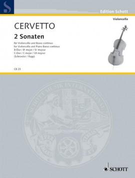 2 Sonatas Bb major and C major