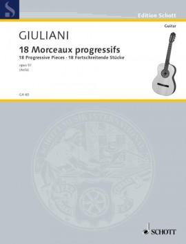 18 progressive Pieces