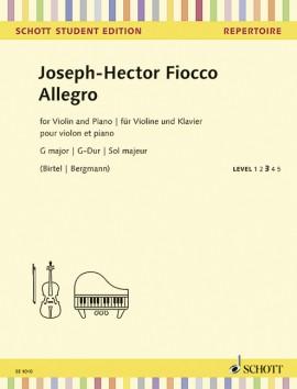 Allegro G major - MP3-Pack