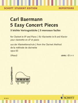5 Easy Concert Pieces