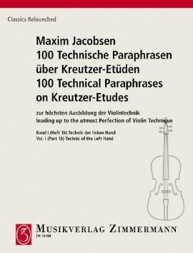 100 Technical Paraphrases on Kreutzer-Etudes